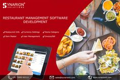 Boost your restaurant startup with restaurant mobile app development solution. Synarion IT Solutions is a leading restaurant mobile app and web development company that give the best development solution at an affordable price. Management Software, Restaurant App, Delivery App, App Development Companies, Food Service, User Experience, Pos, Mobile App, Android