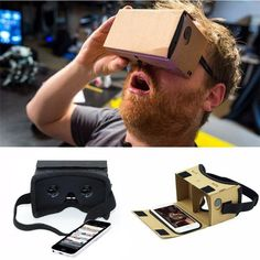 1274a9be4528 Diy Ultra Clear Google Cardboard Vr Box 2.0 Virtual Reality 3D Glasses For Iphone  Smartphone