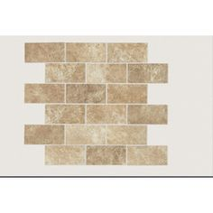 GBI Tile & Stone Inc. 12-in x 12-in Multicolor Glazed Porcelain Mosaic Subway Wall Tile