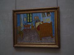 """Van Gogh's """"Bedroom at Arles""""  1889"""