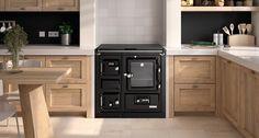 #Cocina #Hergom  SAJA 7 CALEFACTORA con conexión a la red de radiadores