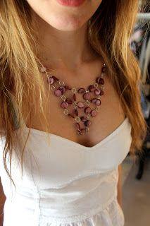 Easy Beaded Necklace DIY | Life's Little Talks