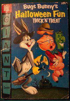 Vintage Halloween Comic