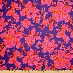 Jennifer Paganelli Honey Child Blooms Purple by parsleyforestAnnex, $3.50