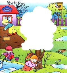 jaro - co bude na stromě Four Seasons, Special Education, Preschool Activities, Snoopy, Clip Art, Weather, Science, Spring, Kids