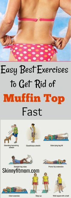8 Simple Exercises to Get Rid of Muffin Top in a Week. This exercise will reduce Side Fat and Muffin Top Fast at Home. #lovehandles #workouts #muffintop #abs