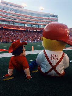 Don't be sad, Herbie and Lil' Red. Football will start again in a few months.