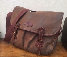 dc883bf6441a Authentic MULBERRY poachers SATCHEL man bag UNISEX trout laptop BROWN  vintage
