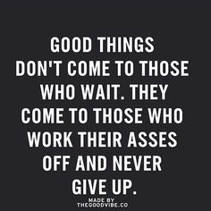 Work hard, never give up, and you WILL get results.... #nevergiveup #inspiration #motivation