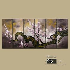 Asian Zen Art Modern Oil Painting