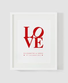 Gorgeous customised Love print for couples. $20.00, www.cocobluecreative.com My Love, Couples, Unique Jewelry, Creative, Handmade Gifts, Quotes, Blue, Etsy, Kid Craft Gifts