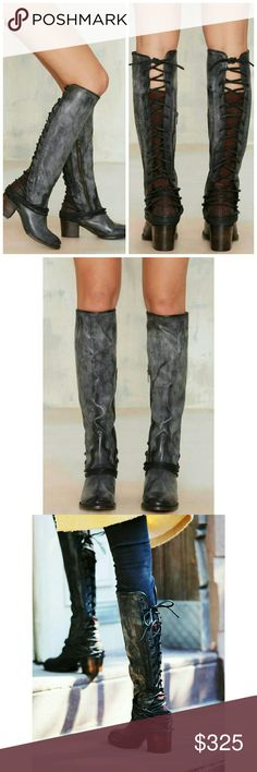 f2c6470993d Freebird Coal Riding Boots by Steven size 7 New in box Freebird by Steven  Madden Coal