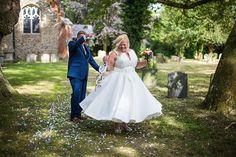 A #weddingdress that twirls - love it!