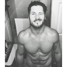 "Um, also, did I mention he looks like this?! | Community Post: 19 Times Val Chmerkovskiy From ""DWTS"" Proved He's Husband Material"