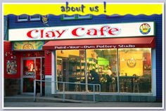 Clay Cafe - A paint your own pottery studio located on quinpool Rd in Halifax. A great place to relax with family or friends while creating a unique piece of art for yourself or someone else. Dartmouth Nova Scotia, Great Places, Places To See, Stuff To Do, Things To Do, What To Do Today, Atlantic Canada, Paint Your Own Pottery, Online Tickets