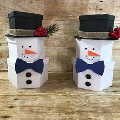 3D Stacking Snowmen