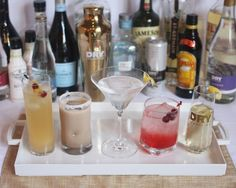 Upgrade your go-to holiday cocktail with these five wintry mixes from DRY Sparkling.