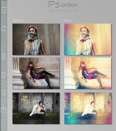 65 Highly Useful Set of Photoshop Actions For Photography | Cool Graphic & Web Design Blog