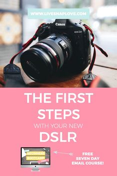Beginner Photography Tips: Your First Steps with a DSLR — LIVE SNAP LOVE - Did you get a brand spanking new DSLR this year? It can be quite disconcerting to pick up your camera for this first time and realise yo. Dslr Photography Tips, Photography Tips For Beginners, Photography Lessons, Photography Tutorials, Digital Photography, Learn Photography, Photography Hashtags, Food Photography, Landscape Photography