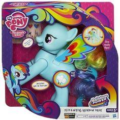 My Little Pony Flip and Whirl Rainbow Dash Pony Fashion Doll Pet