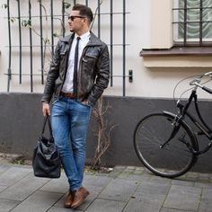Men's Street Style Inspiration #5 I recently... | MenStyle1- Men's Style Blog