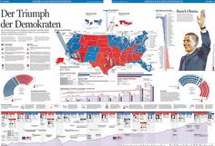 US Presidential Election 2008 2/2 by KircherBurkhardt Visual Lab