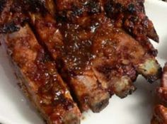 Marie's I Want More Ribs!!! - Easy to make and fall off the rib yummy