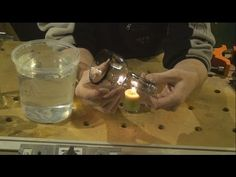 Flaschen schneiden - Flaschen sauber schneiden - DIY - Holzweger - YouTube Cutting Glass Bottles, Make It Yourself, Diy Crafts, Youtube, Decoupage Glass, Turning, Work Shop Garage, Patterns, Gifts