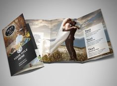 Trifold Brochure For Photography Photography Brochure Template - Wedding photography brochure template