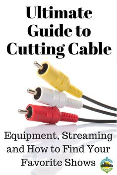 Here is the ultimate guide to cutting cable and saving money, entertainment budget, frugal living, cut the cord. Living On A Budget, Frugal Living Tips, Frugal Tips, Rv Tips, Ways To Save Money, Money Tips, Money Saving Tips, Saving Ideas, Cable Tv Alternatives