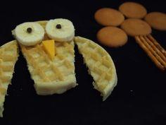 Eggo Waffle Owls –