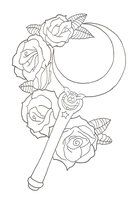 sailor moon tattoo design - Google Search (Galaxy Colors Tattoo)