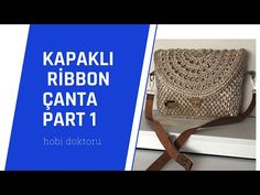 Bag Making, Ribbon, Youtube, How To Make, Instagram, Amigurumi, Bags, Tape, Treadmills