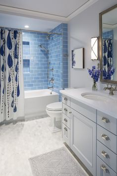 Washington Waters | Martha O'Hara Interiors.  Bathroom inspiration!