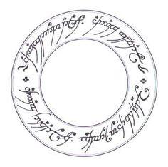 Le tengwar est l'écriture elfique inventé par Tolkien dans le seigneur des anneaux.