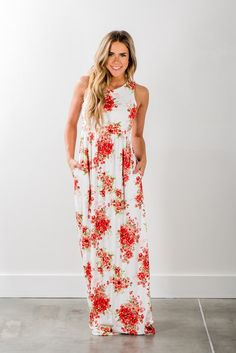 Floral Tank Style Maxi!
