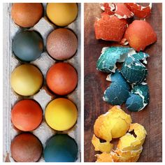 Naturally Dyed Easter Eggs | Hellobee