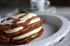 in honor of national pancake day: tiramisu pancakes