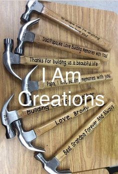Father's Day Gift Idea!!!! Personalized Hammer Gift for men for him men gifts for