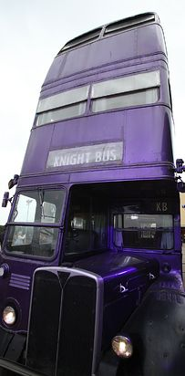Everything here — that pair of Omnoculars, the Knight Bus parked outside — they're all a part of this world that you know and love. | What It's Like When A Harry Potter Fan Makes The Journey To London --********** visit the movie site location!