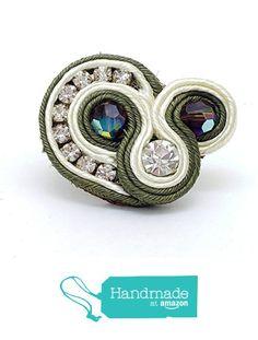 Beading soutache rings RG789 from Nazo Design https://www.amazon.com/dp/B01HMUWCLK/ref=hnd_sw_r_pi_dp_tRy6xbP2B1C3R #handmadeatamazon