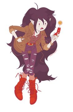 Marceline, why are you so mean? Adventure Time Marceline, Adventure Time Anime, Cartoon Network, Teen Titans, Character Art, Character Design, Marceline And Princess Bubblegum, Vampire Queen, Jake The Dogs