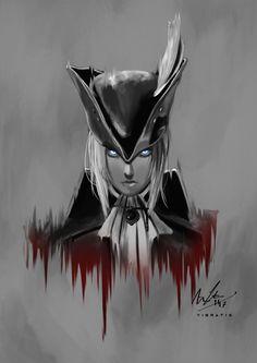 Bloodborne: Maria of the Astral Clocktower by Vibratix