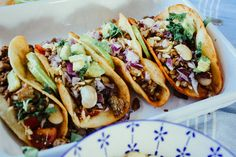 Vegan Recipe Rezepte Essen Food Zucker Jagdwurst Taco Tuesday Peach Pesto
