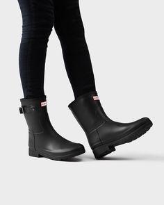Women's Original Refined Short Rain Boots | Official Hunter Boots Site