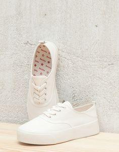 pretty nice 900ff 71727 Ver Todo - MUJER - Zapatos - Bershka Mexico Zapatillas Vans Mujer,  Zapatillas Blancas,