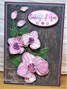 Rhapsody in Craft: Stampin' Up - Art With Heart - Favourite Colour Combination Blog Hop - July 2017