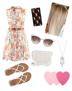 """""""Summer"""" by boston-c ❤ liked on Polyvore featuring Casetify, Billabong, Sephora Collection, Gucci, Under One Sky and Lucky Brand"""