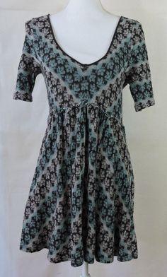 Free People Women Gray Blue Dress Size L #FreePeople