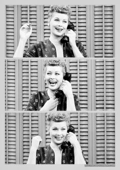 oh how i wish I Love Lucy was still on... she was awesome!
